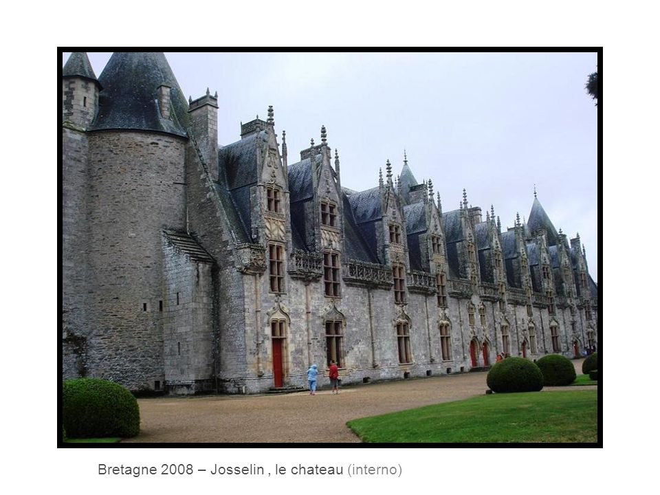 Bretagne 2008 – Josselin, le chateau (interno)