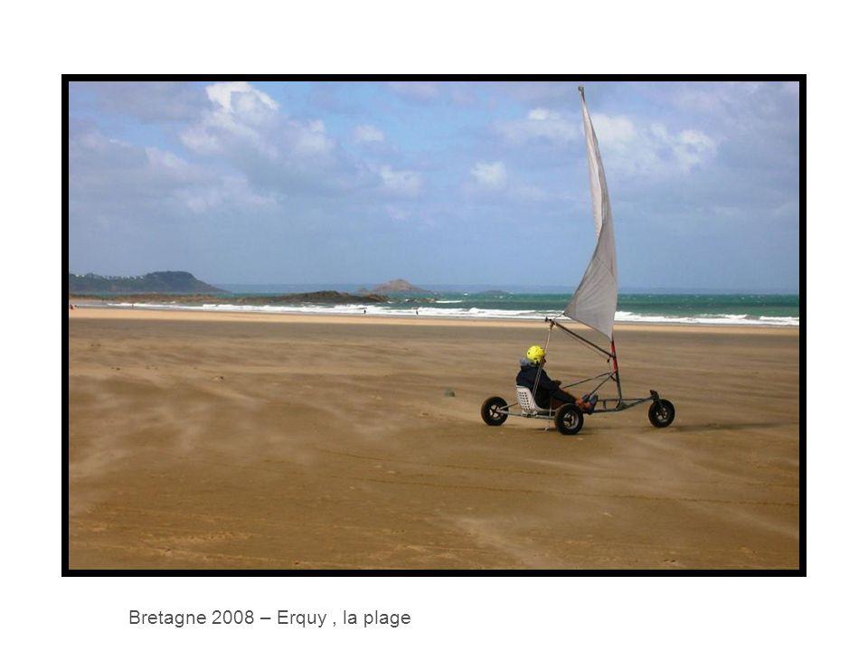 Bretagne 2008 – Erquy, la plage