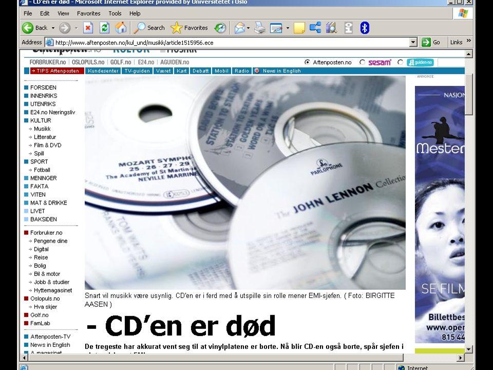 © Olav Torvund - SENTER FOR RETTSINFORMATIKK UNIVERSITETET I OSLO http://www.torvund.net What we have will not disappear...