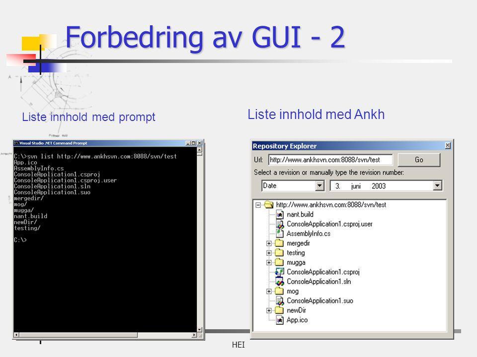 HEI Liste innhold med prompt Liste innhold med Ankh Forbedring av GUI - 2