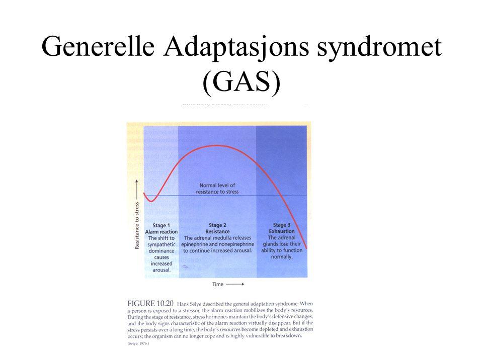 Generelle Adaptasjons syndromet (GAS)