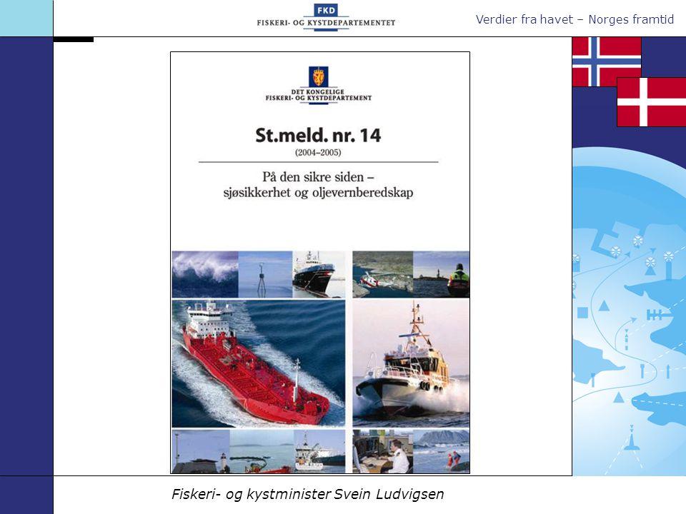 Verdier fra havet – Norges framtid Fiskeri- og kystminister Svein Ludvigsen