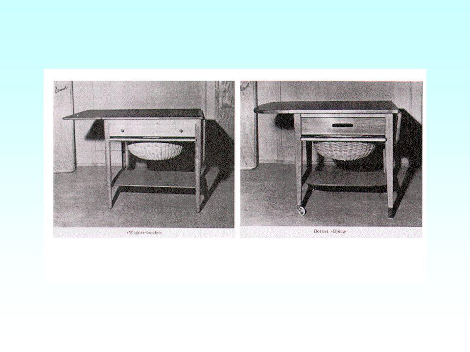 Møbelkunst og annen brukskunst Funksjonell brukskunst: Begrensede variasjonsmuligheter - mer inngående originalitetsvurdering –Rt 1962 s. 964, Wegner