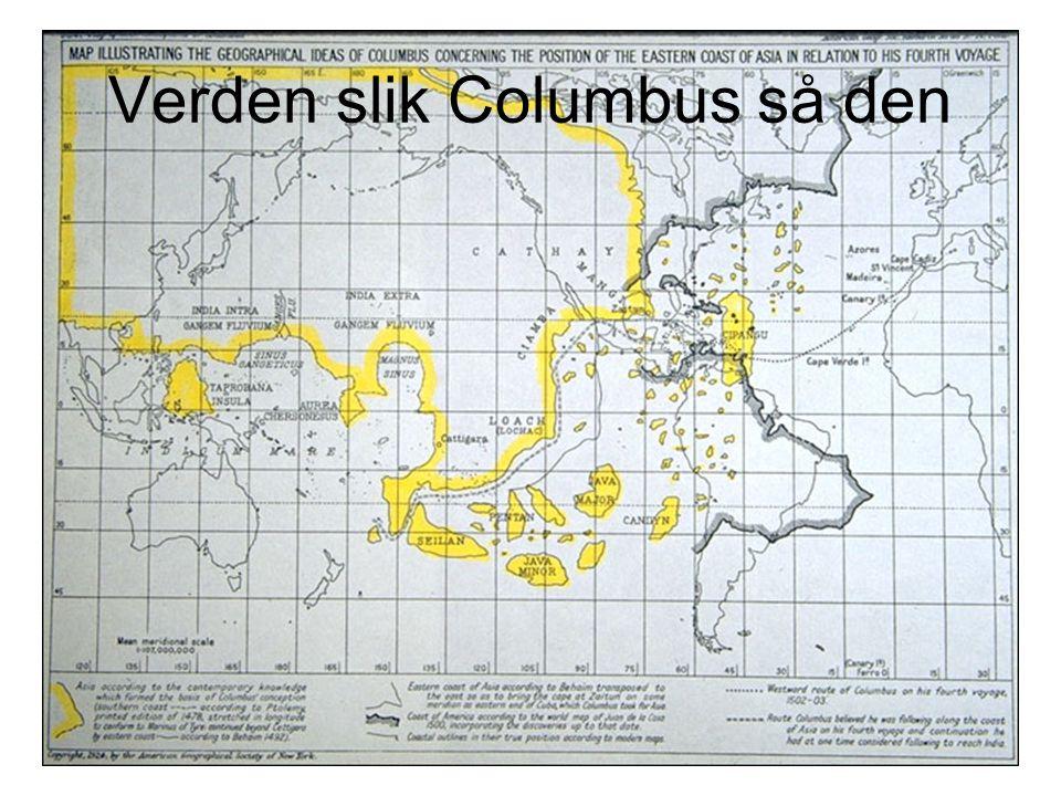 Verden slik Columbus så den