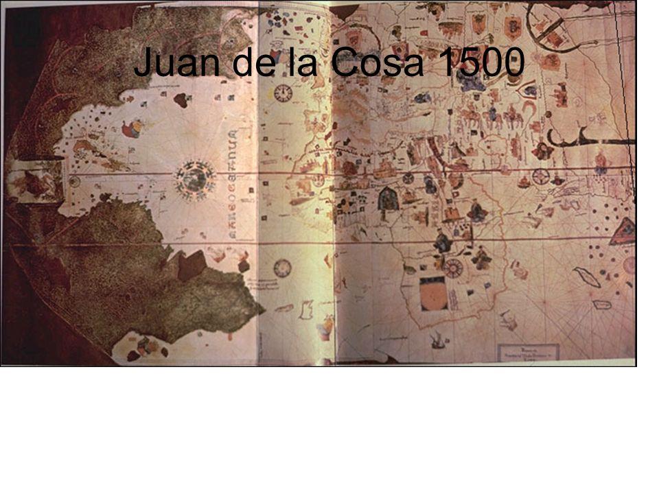 Juan de la Cosa 1500
