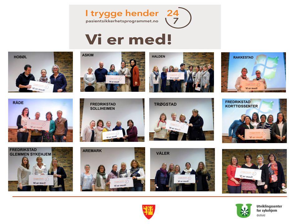 Riktig legemiddelbruk i sykehjem 18 Samling 14 april – ett år etter avsluttet læringsnettverk (14 kommuner)