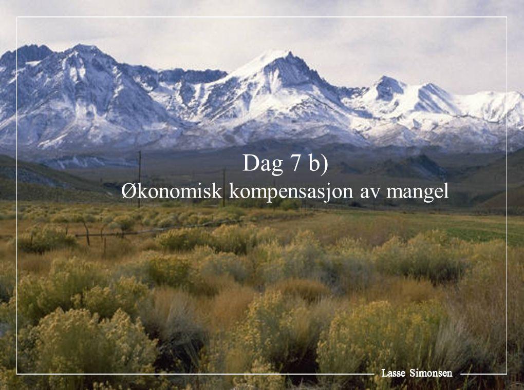 Lasse Simonsen Dag 7 b) Økonomisk kompensasjon av mangel Lasse Simonsen