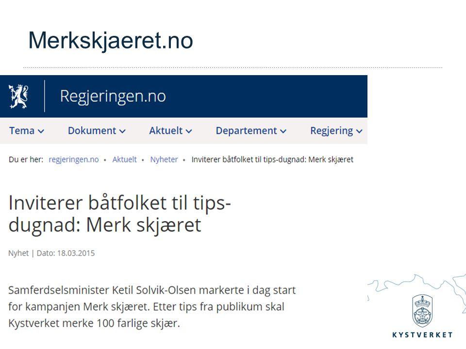 – Vi tar ansvar for sjøvegen Merkskjaeret.no