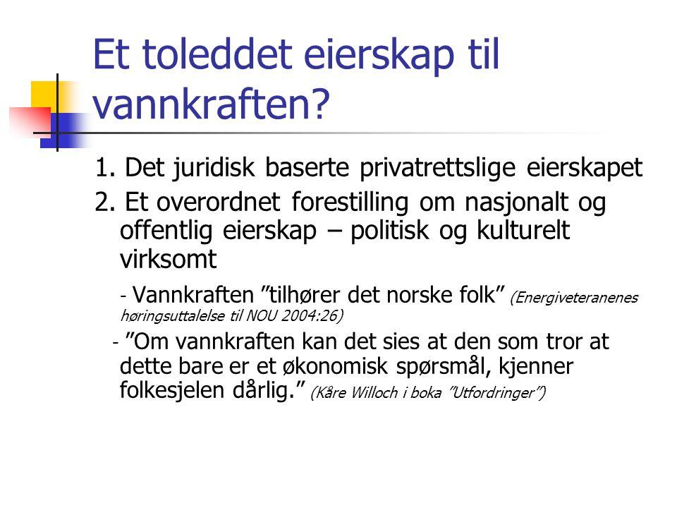 APs Sigbjørn Johnsen Ot.prp.nr. 23 (1995-96) Om skattlegging av kraftforetak.