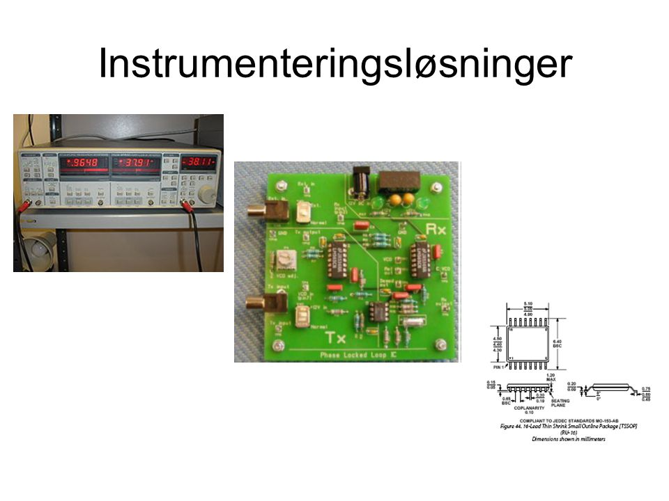 Instrumenteringsløsninger