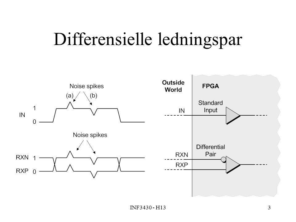 INF3430 - H133 Differensielle ledningspar
