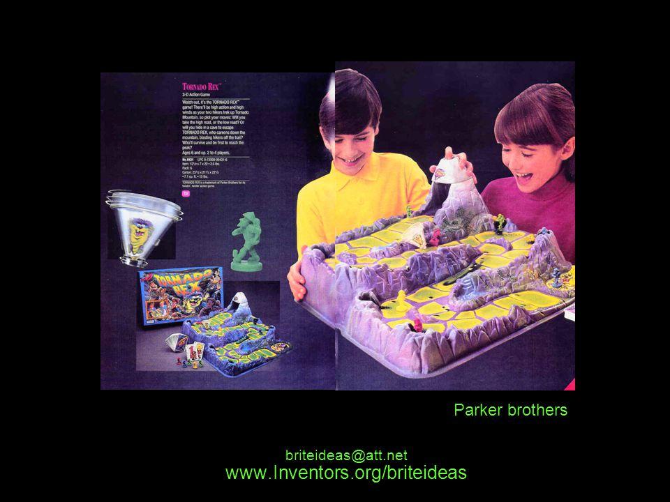 www.Inventors.org/briteideas briteideas@att.net Parker brothers