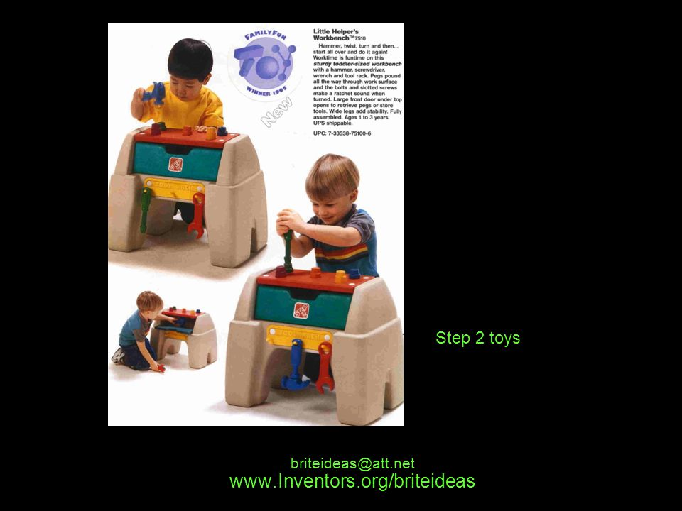 www.Inventors.org/briteideas briteideas@att.net