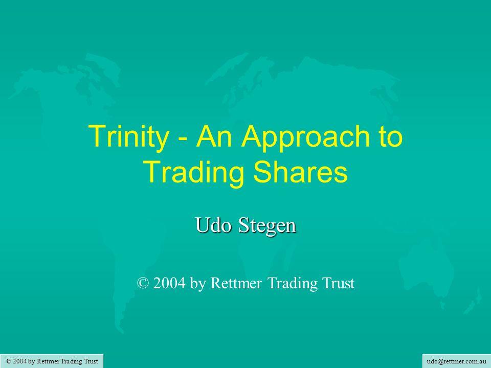 udo@rettmer.com.au © 2004 by Rettmer Trading Trust When do TPs Lock In?