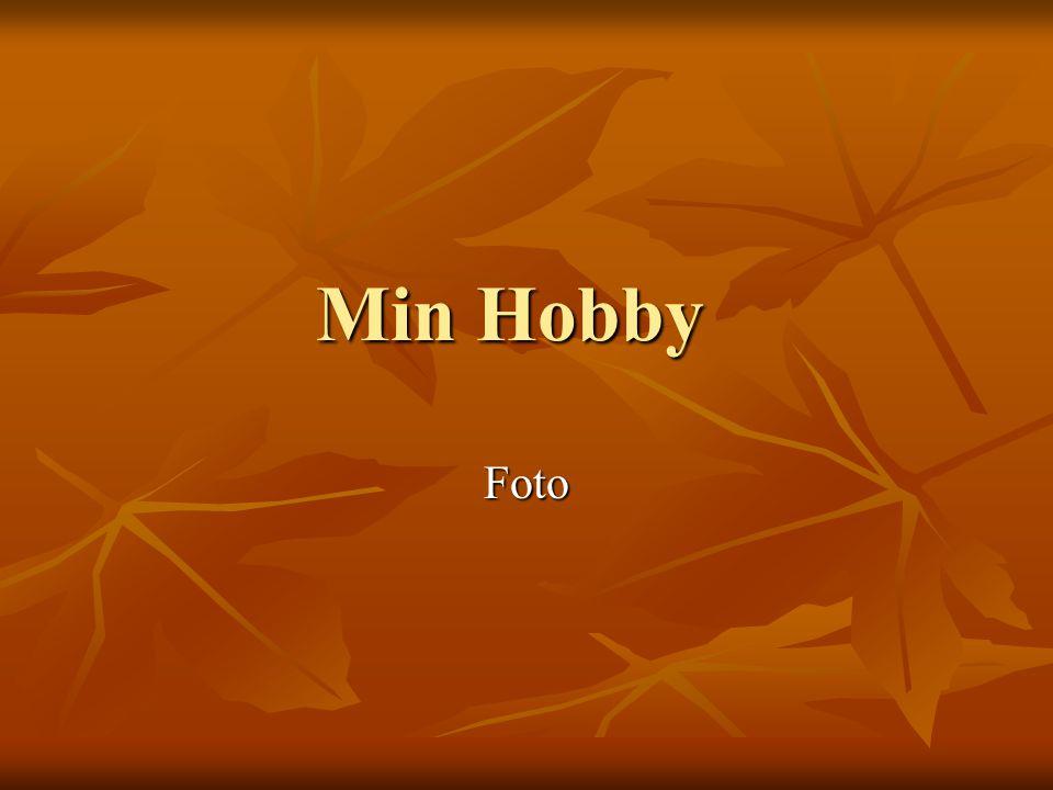 Min Hobby Foto