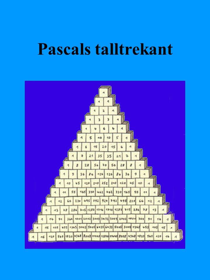 Pascals talltrekant