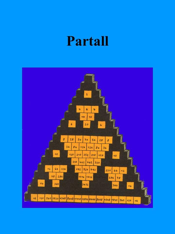 Forskjellige tallmønster og tallrekker
