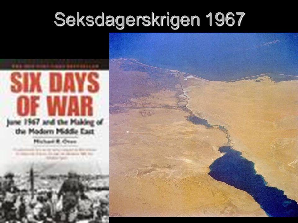 Seksdagerskrigen 1967