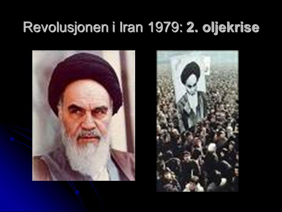 Revolusjonen i Iran 1979: 2. oljekrise