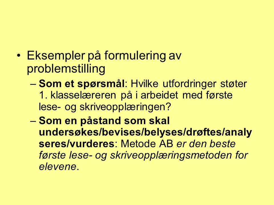Eller et sitat fra LK06 – Å kunne lese i norsk er en grunnleggende ferdighet som norskfaget tar et særskilt ansvar for gjennom den første leseopplæringen og den videre leseopplæringen som foregår gjennom hele det 13-årige (Læreplan for grunnskolen og videregående opplæring 2006).