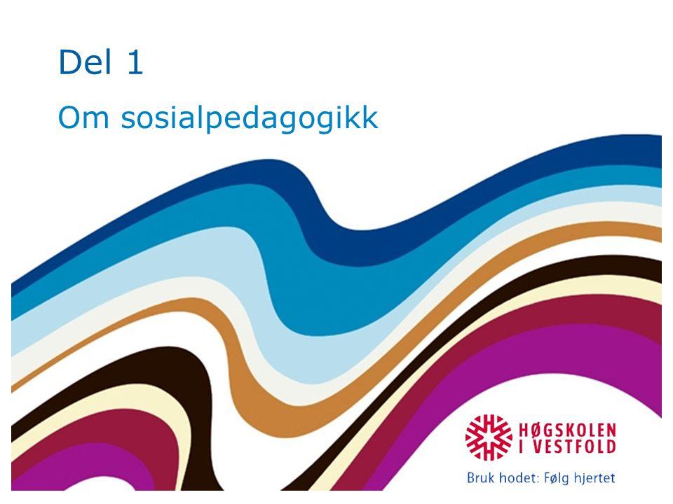 Del 1 Om sosialpedagogikk