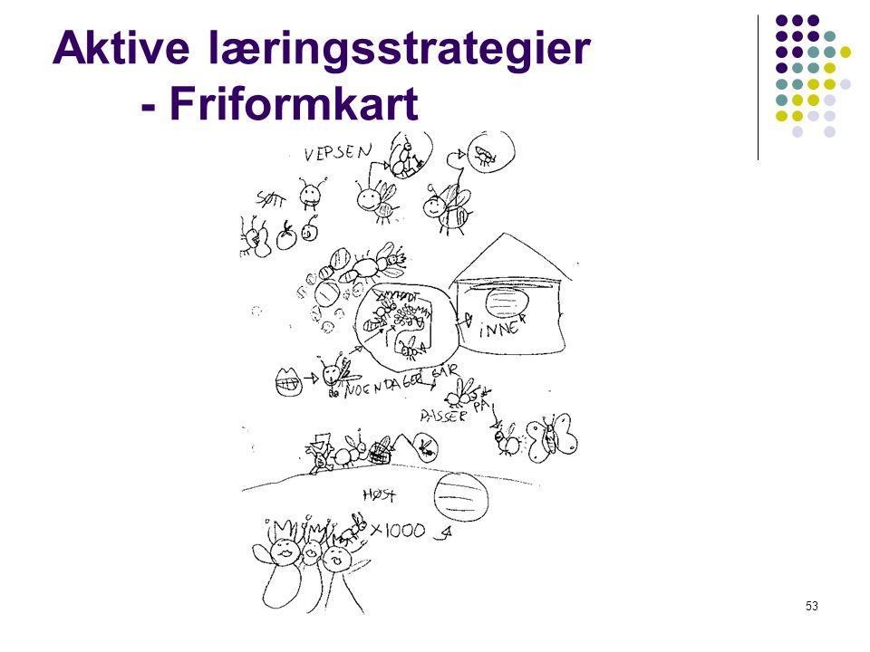 53 Aktive læringsstrategier - Friformkart