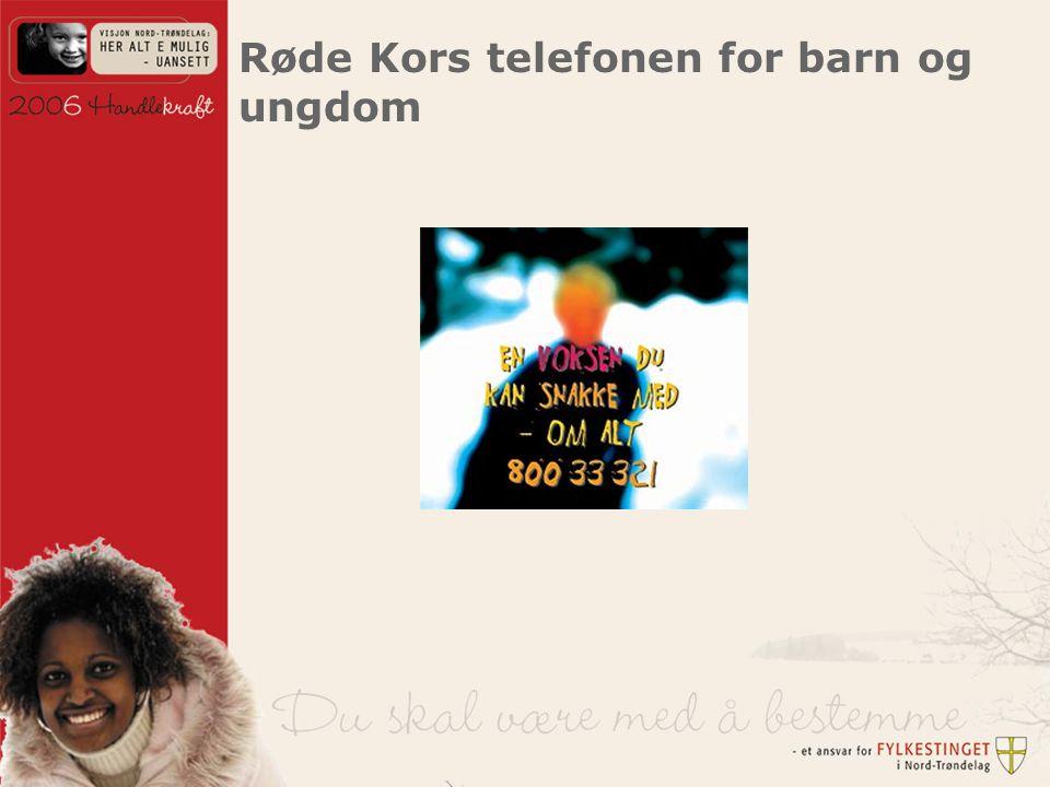 Røde Kors telefonen for barn og ungdom