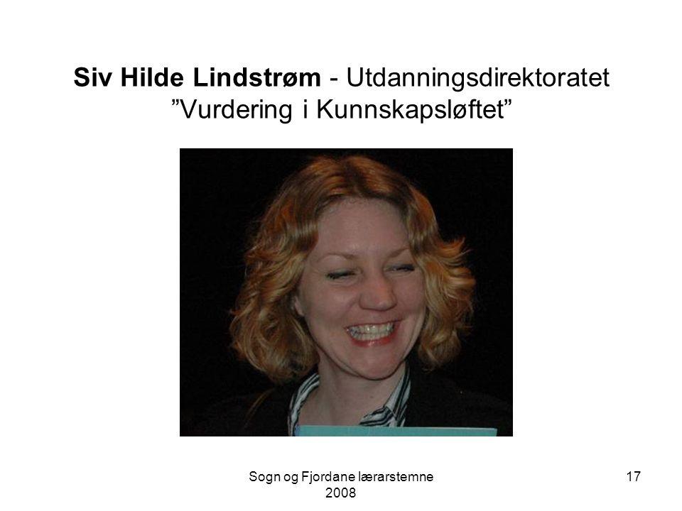Sogn og Fjordane lærarstemne 2008 16