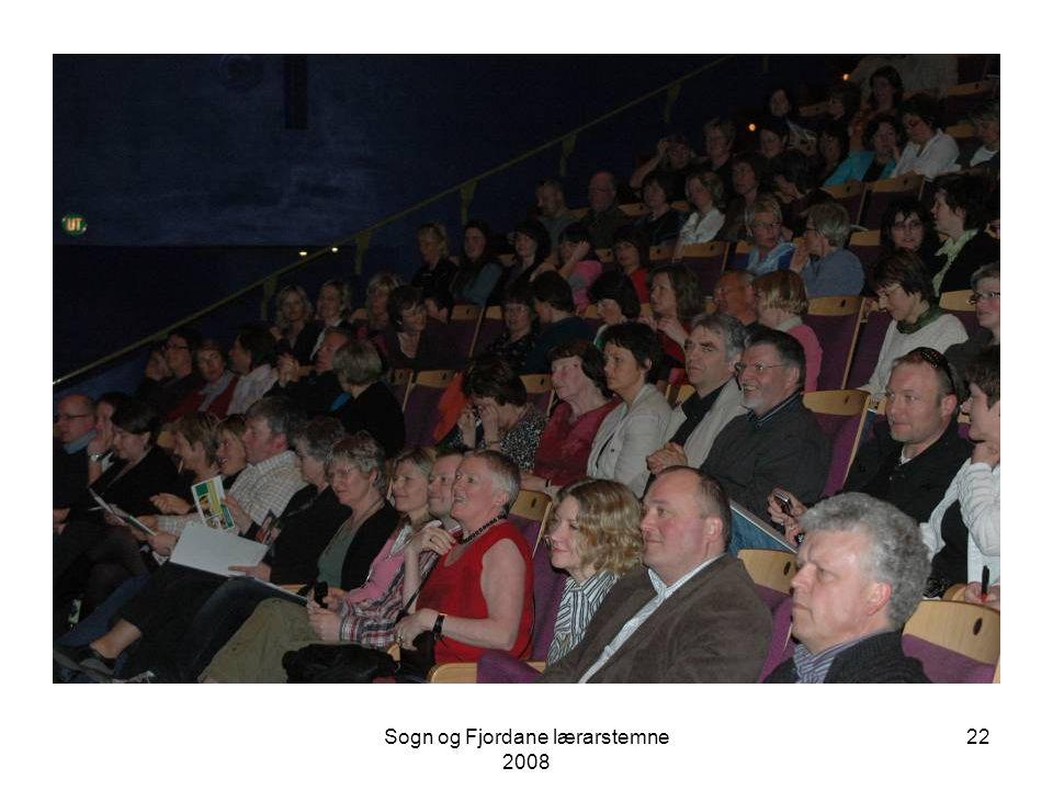 Sogn og Fjordane lærarstemne 2008 21