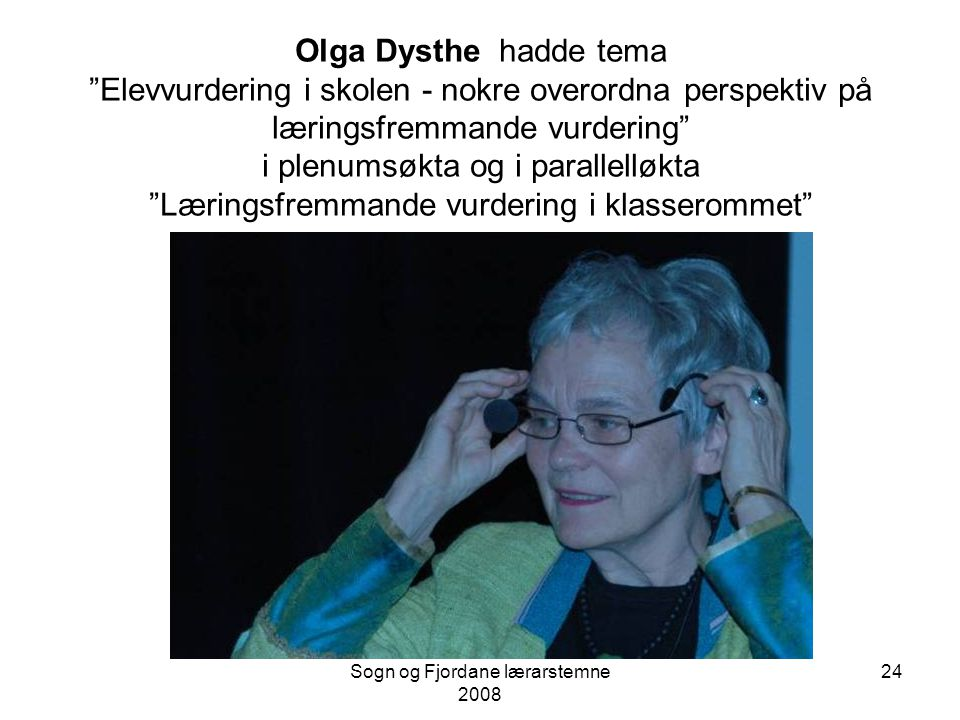 Sogn og Fjordane lærarstemne 2008 23
