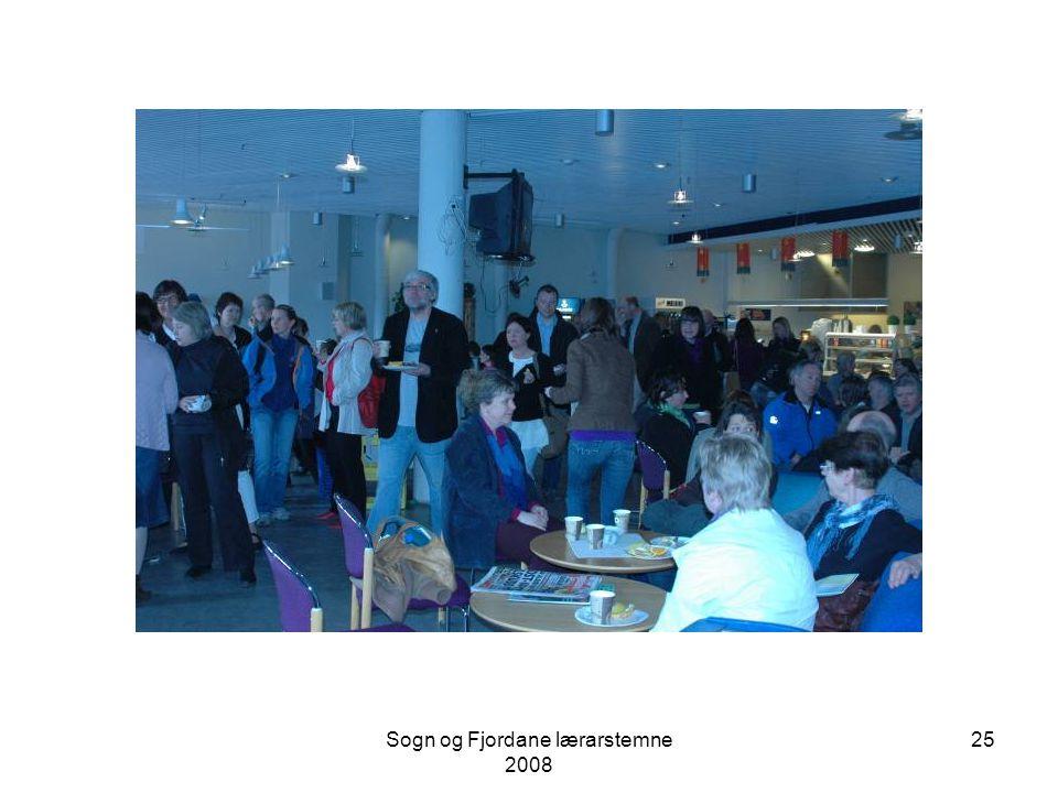 """Sogn og Fjordane lærarstemne 2008 24 Olga Dysthe hadde tema """"Elevvurdering i skolen - nokre overordna perspektiv på læringsfremmande vurdering"""" i plen"""