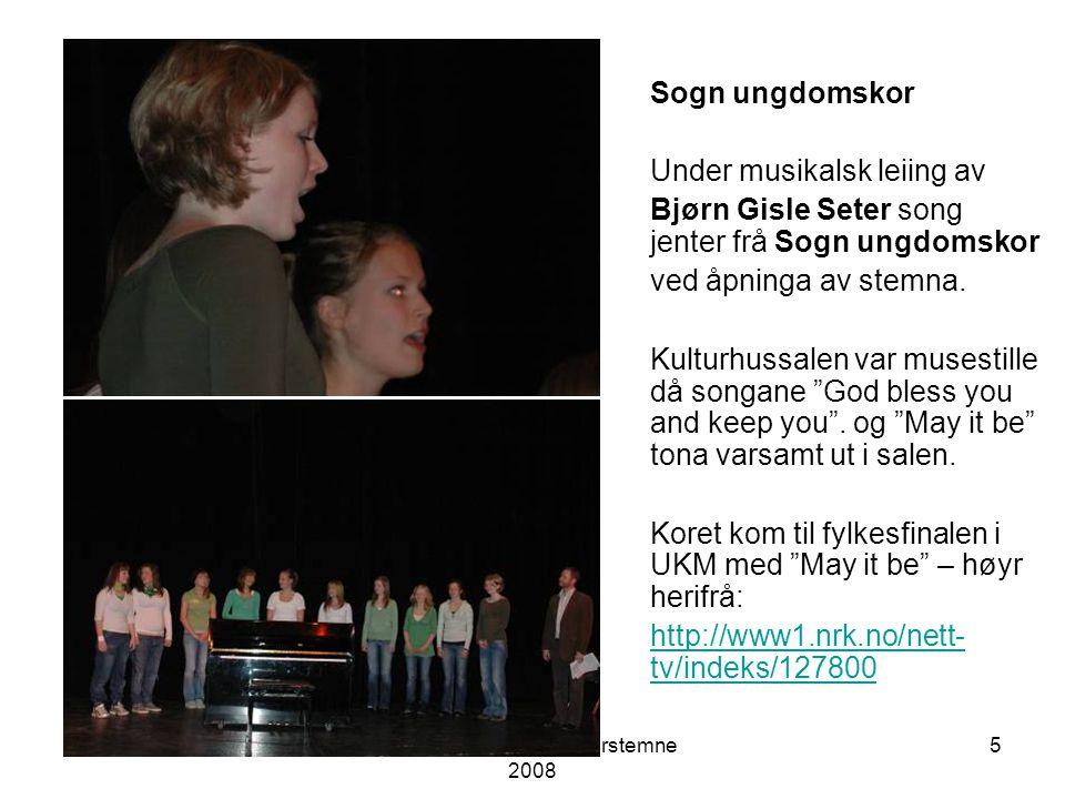 Sogn og Fjordane lærarstemne 2008 4