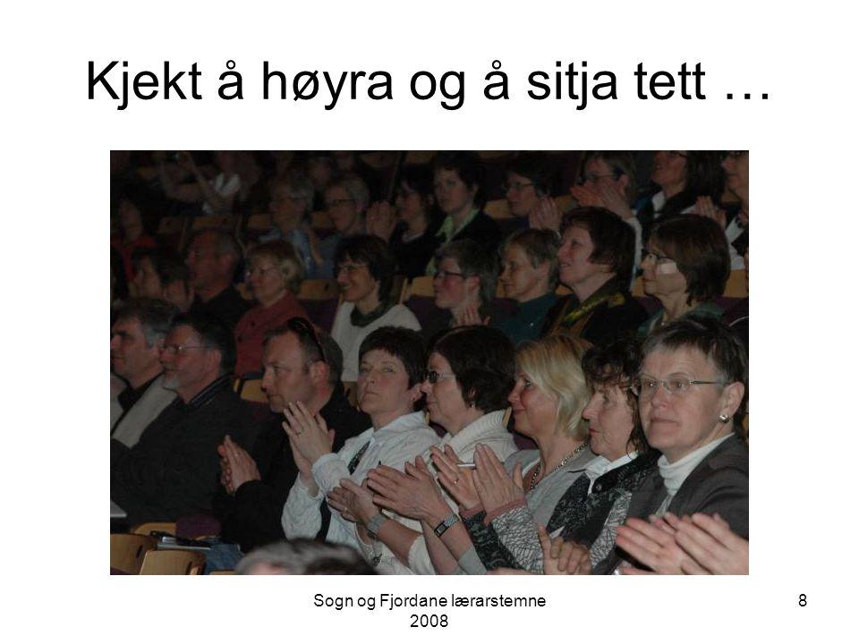 Sogn og Fjordane lærarstemne 2008 7