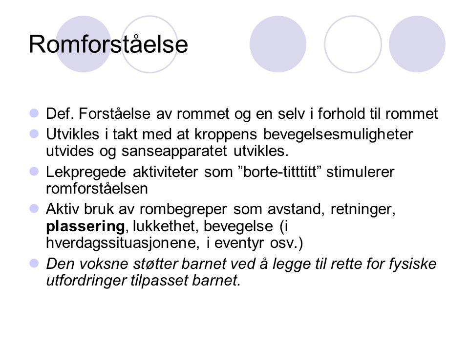 Geometrisk aktivitet; hvordan .Olga Herbjørnsen, Rom, form og tall s.
