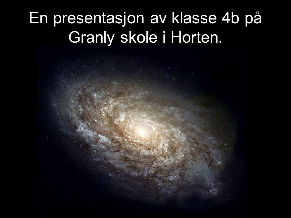 En presentasjon av klasse 4b på Granly skole i Horten.