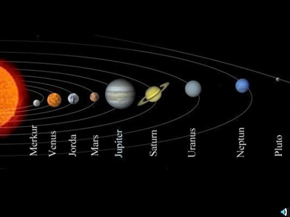 Pluto Antall måner:1 Årets lenge:248 år Døgnets lengde:6 dager og 9 timer Hva slags materiale er planeten bygget opp av:is og sten