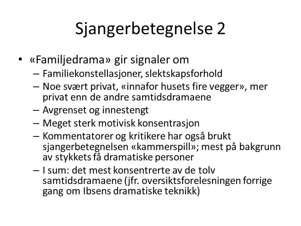 Navn og navnesymbolikk 1 Kammerherre: kammerherre = hofftjener av meget høy rang Alving: metatese for «avling».