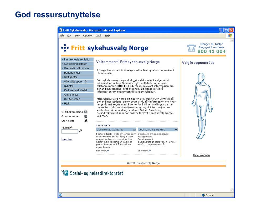 © 2011 Deloitte AS Fritt sykehusvalg..7 E dei flinke dar.