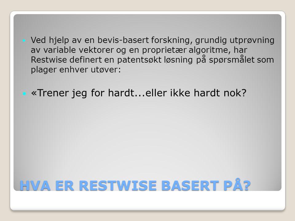 HVA ER RESTWISE BASERT PÅ.