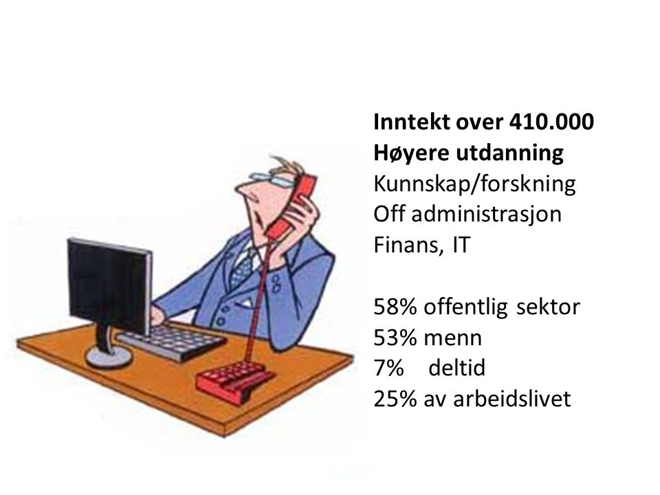 Tryggheten øker for de fleste.Men flere opplever usikre ansettelsesforhold.