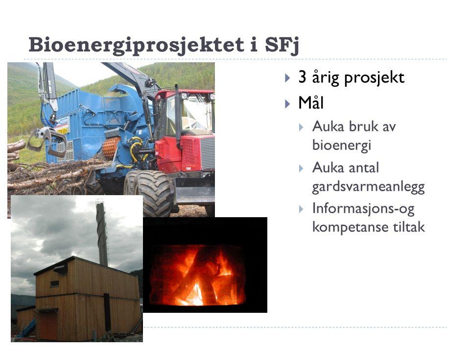 Kva er stoda innan bioenergi i Sogn og Fjordane.