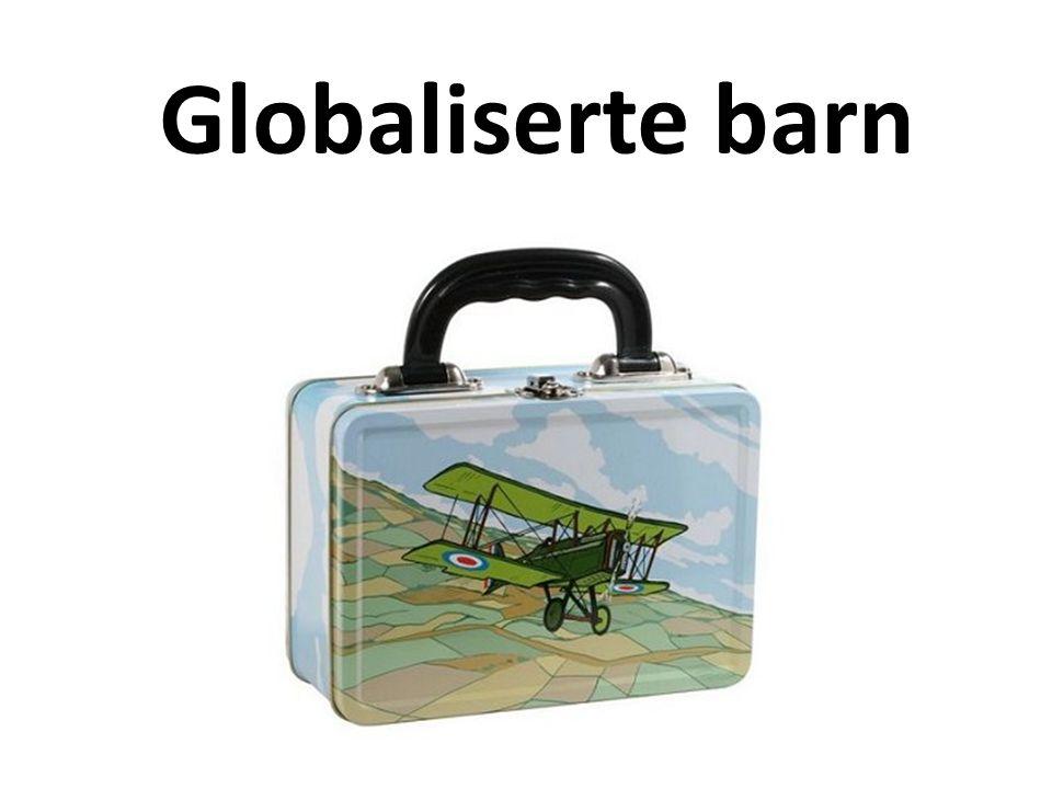 Hva er globalisering Vi er innvevd i hverandres virkeligheter Kultur er mer ensartet- og mangeartet Verden har blitt liten Vi ikler oss globalt Vi handler globalt Vi snakker, tenker og drømmer globalt Økonomi i andre deler av verden angår oss Miljø og kriminalitet har ikke grenser