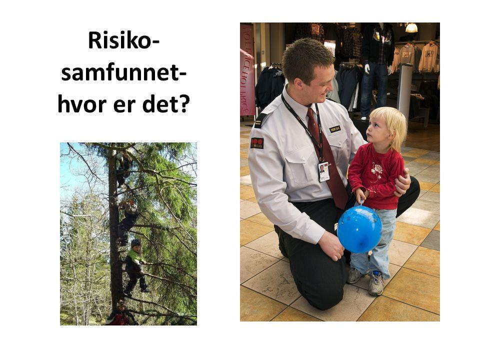 Risiko- samfunnet- hvor er det?