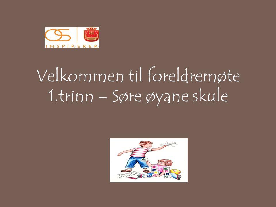 Klassemiljø 1.trinn Skulen Leikegrupper.Steg for steg..