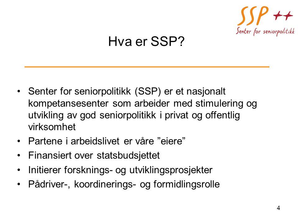 Hva er SSP.