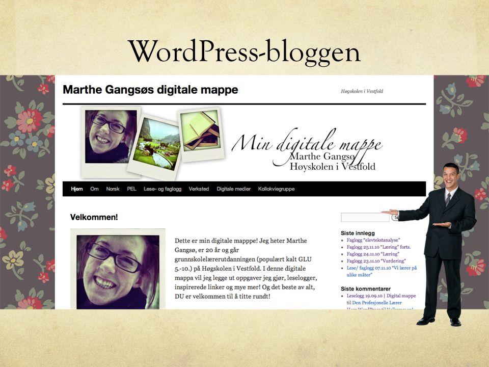 WordPress-bloggen