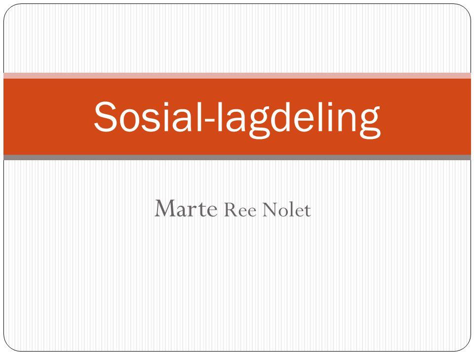 Marte Ree Nolet Sosial-lagdeling