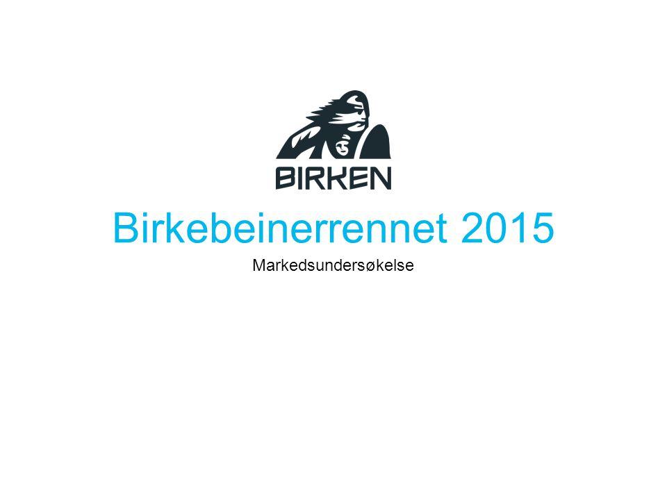 Kjennskap Enervit langingspakke Høy kjennskap, men få benyttet seg av tilbudet Markedsundersøkelse Birkebeinerrennet 2015