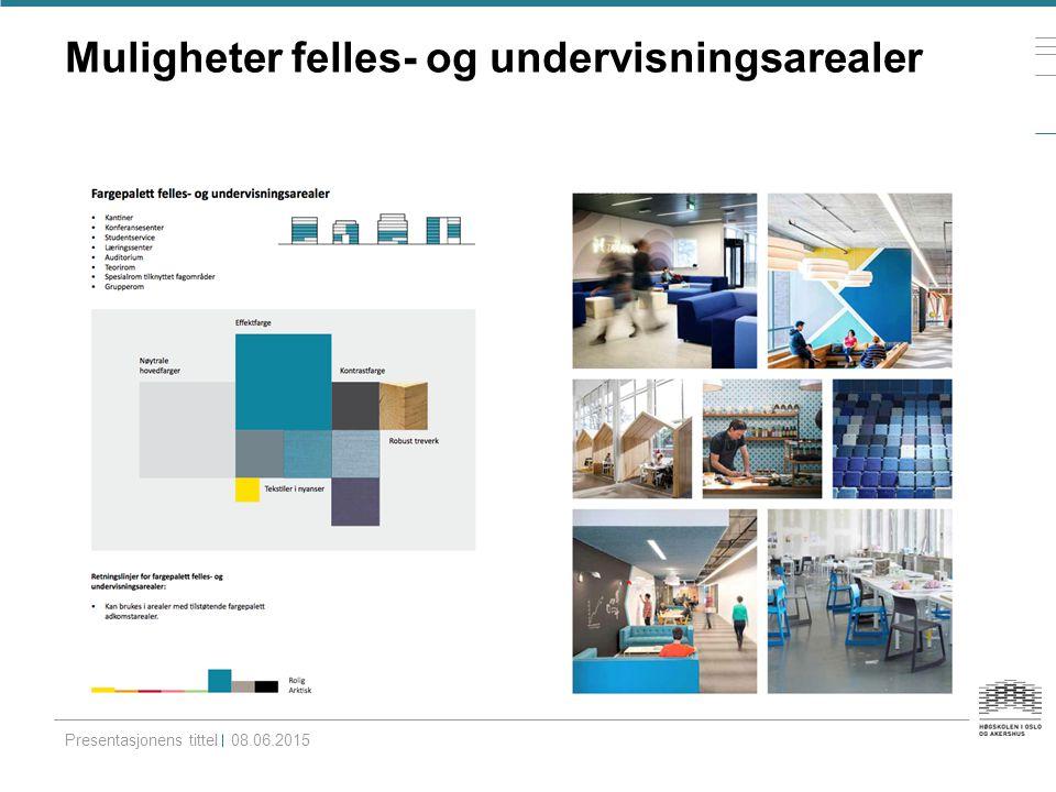 Muligheter adkomstarealer Presentasjonens tittel08.06.2015