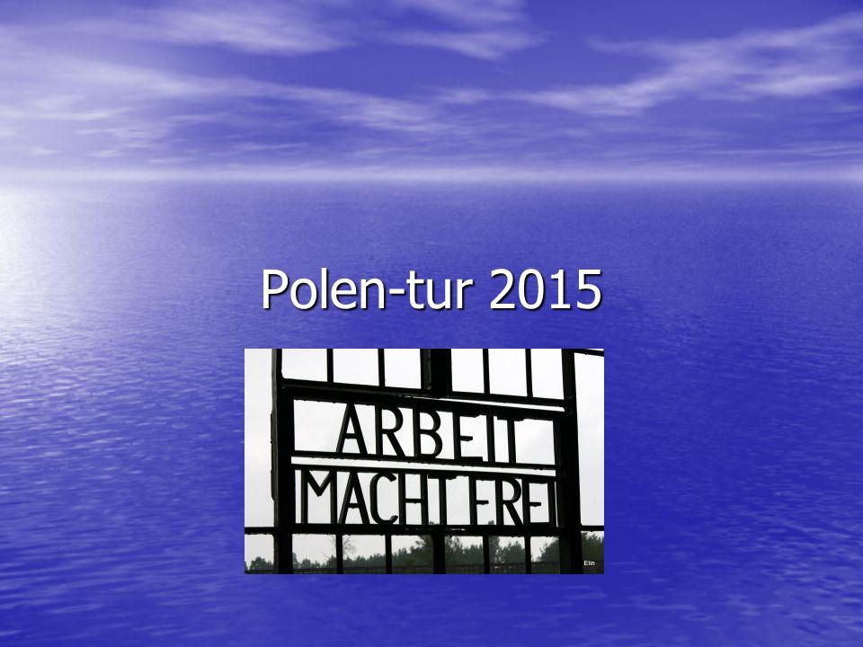 Informasjon Polentur Avreise mandag 4.september Avreise mandag 4.